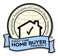 InterNACHI First Time Home buyer friendly badge