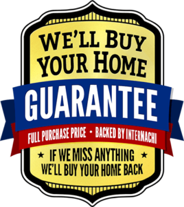 InterNACHI Buy home back guarantee badge