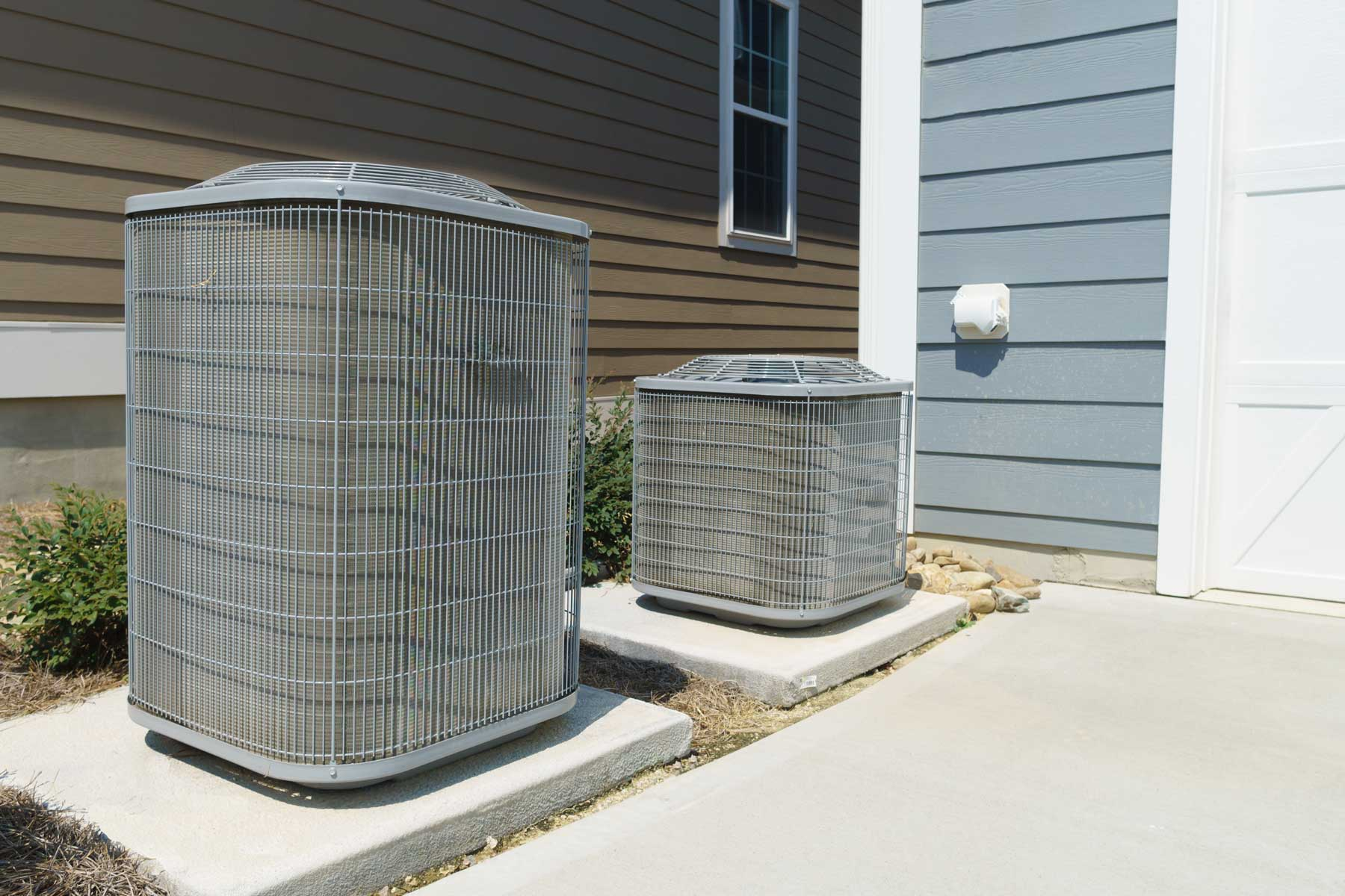 Photo of air conditioning units