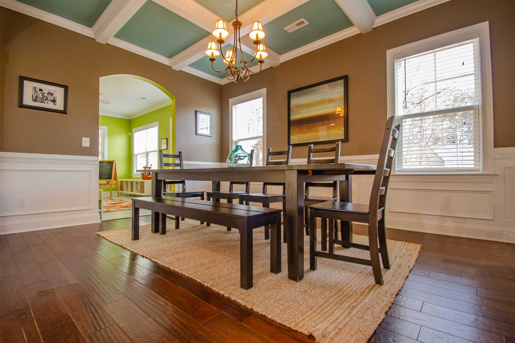 Photo of dining room with chairs