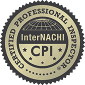 IBEX Home Inspection InterNACHI Certified Professional Inspector Badge