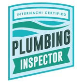 IBEX Home Inspection Plumbing Inspector InterNACHI Certified Badge